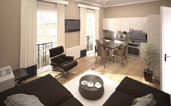 High end residential development finance in York Street W2